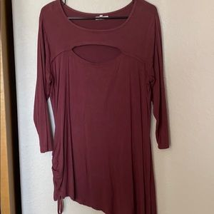 Tunic with cute details